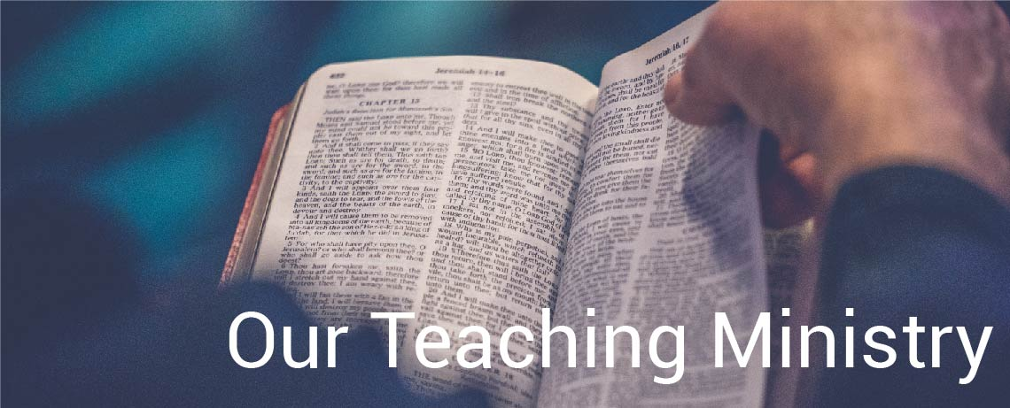 Our Teaching Ministry
