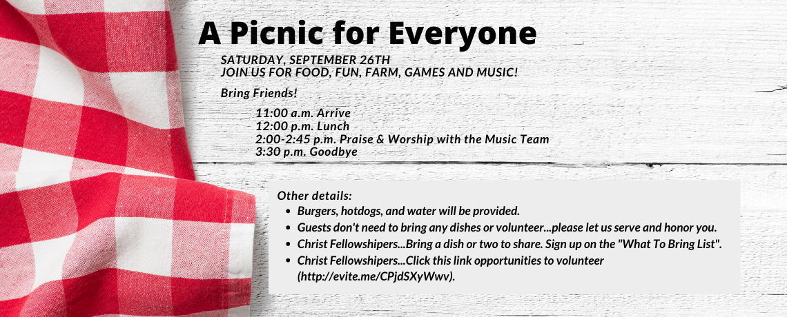 A Picnic for Everyone